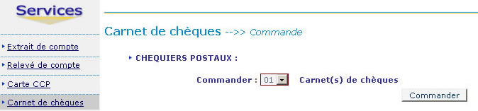 Comment Commander Un Carnet De Cheques Ccp